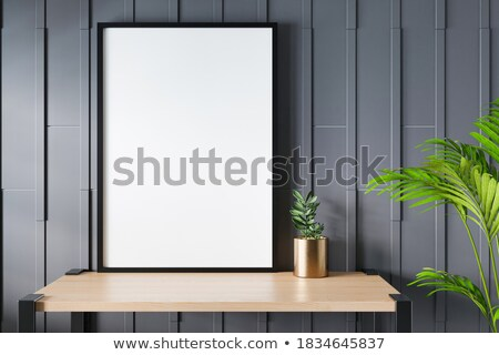 illustration of piano keys on abstract floral grungy background stock photo © get4net