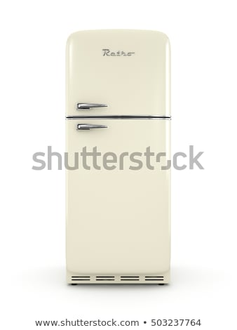 retro fridge Stock photo © AnatolyM