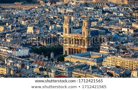 kerk · Frankrijk · toren · wijn · gebouw - stockfoto © hsfelix