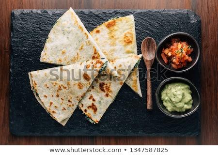 チーズ · 辛い · 鶏 · 野菜 · 異なる · 食品 - ストックフォト © barbaraneveu