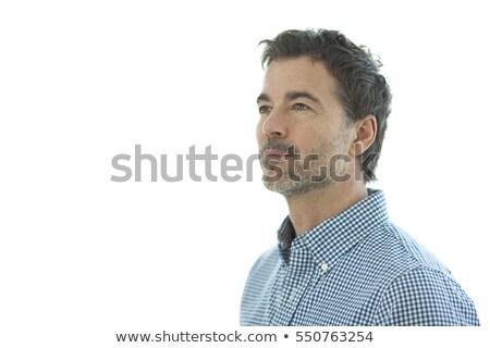 肖像 魅力的な 男 カジュアル 服 近い ストックフォト © Lopolo