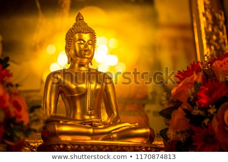 Or buddha vintage rétro style Photo stock © dmitry_rukhlenko