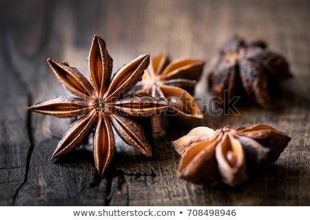 анис звезды фон продовольствие семени Сток-фото © zhekos