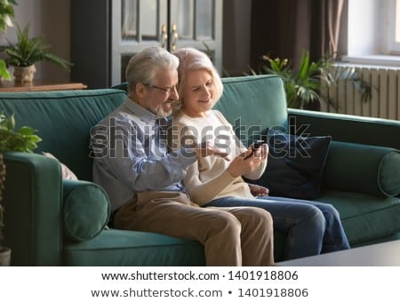 couple at home with a telephone stock photo © photography33