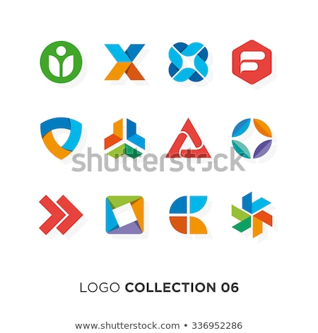 shopping flat color icons set 04 stock photo © ecelop