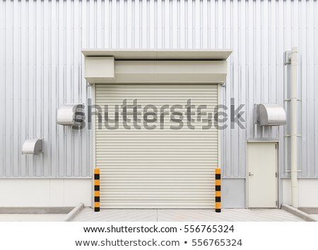 warehouse with entrance Stock photo © franky242