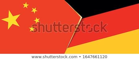 Dos banderas Alemania ue aislado Foto stock © MikhailMishchenko