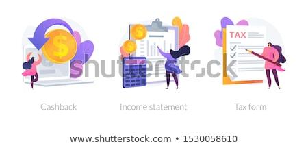 Banking and financial services vector concept metaphors. Stock photo © RAStudio
