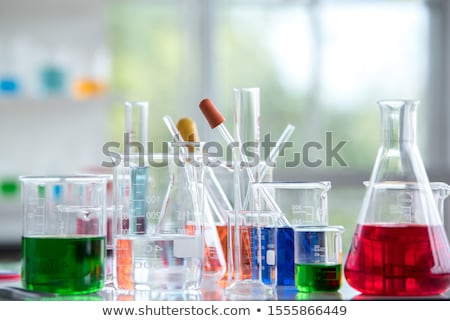 Science equipments for chemistry lab Stock photo © bluering
