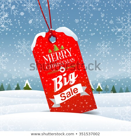 Winter Sale Best Offer Promotion with Countdown Stock photo © robuart