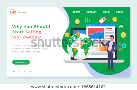 Why You Should Start Selling Worldwide Vector Stock photo © robuart
