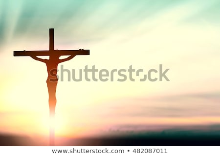 easter day and good friday cross background Stock photo © SArts