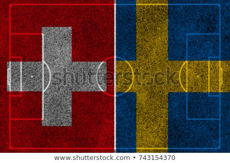 スウェーデン 対 スイス サッカー 一致 実例 ストックフォト © olira