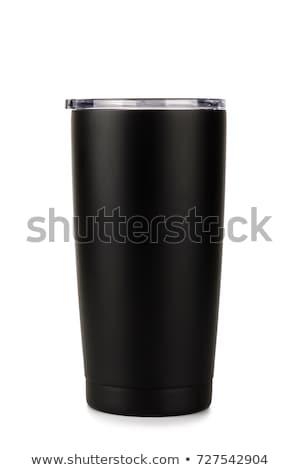 Xícara de café chá preto copo caneca Foto stock © JamiRae