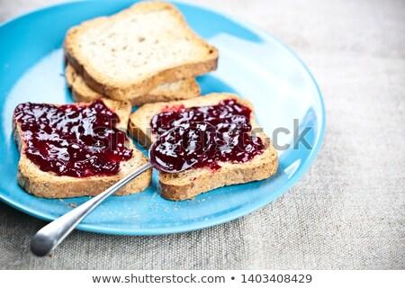 Vers geroosterd granen brood eigengemaakt Stockfoto © marylooo