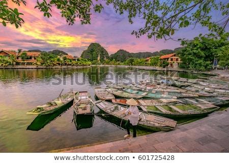 Touristiques destination Viêt-Nam eau Rock pierre Photo stock © dmitry_rukhlenko