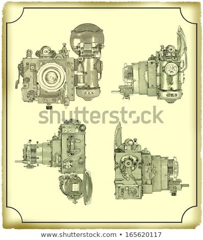 Figure antique cameras stock photo © mayboro