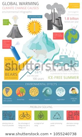 айсберг океана глобальный изометрический икона Сток-фото © pikepicture