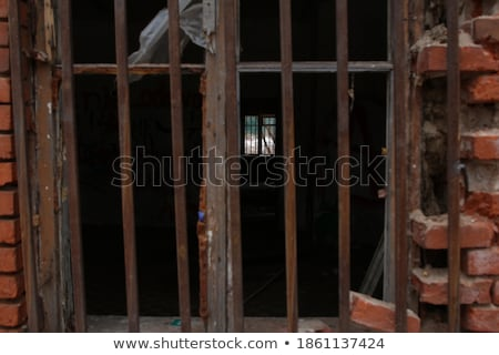 Red Brick wall ends and sides Stock photo © bobkeenan