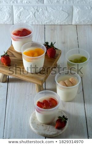 винограда клубника белый Кубок весны лет Сток-фото © aelice