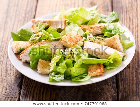 Chicken Caesar Salad Stock photo © SimpleFoto