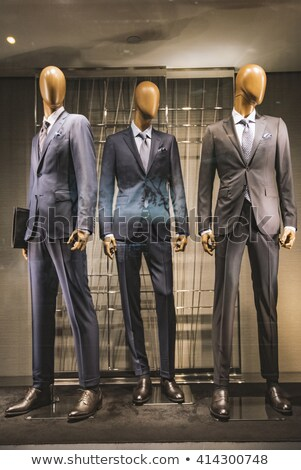 men mannequins in shop stock photo © paha_l