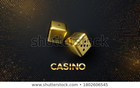 golden dice Stock photo © tashatuvango