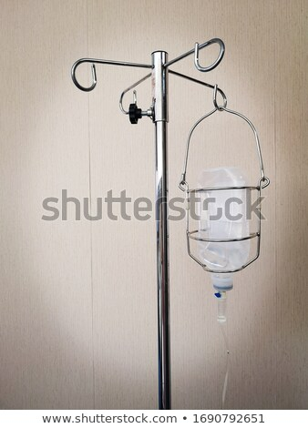 Infusión botellas colgante metal médicos habitación Foto stock © vetdoctor
