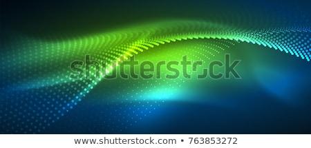 аннотация зеленый баннер бизнеса текстуры веб Сток-фото © phyZick