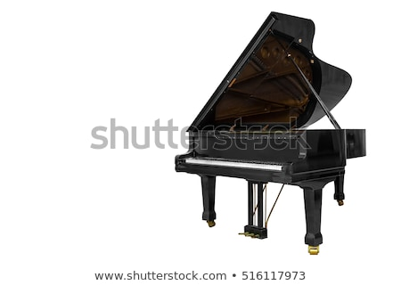 Isolated Piano Stock photo © kwest