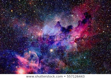 Uzay galaksi Yıldız toz patlama doku Stok fotoğraf © Anna_Om