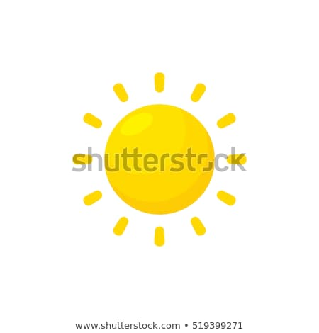 Cartoon Sun Stock photo © adamson
