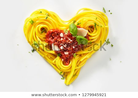 Pasta love. Stock photo © pashabo