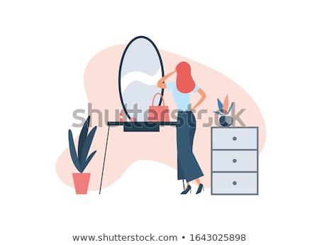 getting an elegant makeup stock photo © lithian