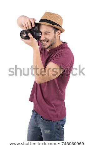 カメラマン · 画像 · 男性モデル · プロ · 男性 - ストックフォト © feedough