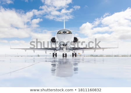 Airplane Taxiing Ready For Takeoff Stock photo © stuartmiles