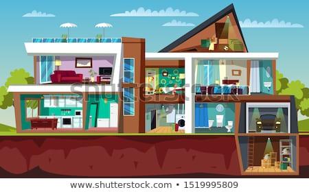 childrens bedroom in modern townhouse stock photo © epstock