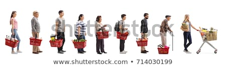 Elderly woman shopping on-line Stock photo © photography33