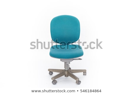 The isolated blue swivel chair Stock photo © ozaiachin