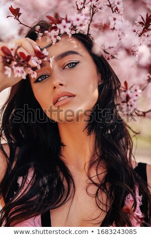 Gorgeous fashion style photo of beautiful brunette woman  stock photo © danielkrol