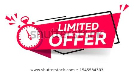 Promoting savings. Stock photo © photography33