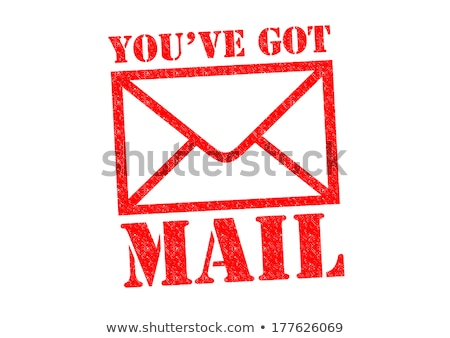 Posta mesaj iş Internet imzalamak ağ Stok fotoğraf © mscottparkin