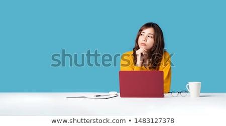 技術 · 絶望 · 女性 · 壊れた · コンピュータ - ストックフォト © smithore