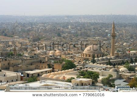Syrië stad reizen gebouwen toeristische Stockfoto © travelphotography