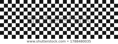 Stockfoto: End Race Flag