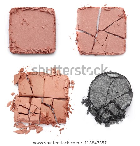 Brown eye with bright pink and violet makeup Stock photo © vlad_star