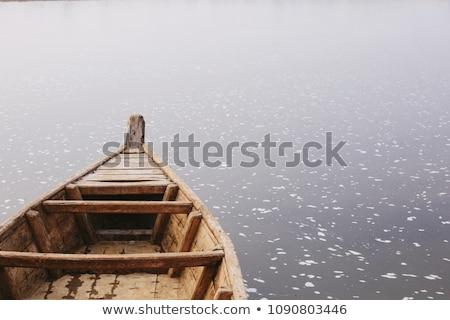 Barco água madeira verão viajar Foto stock © shutswis