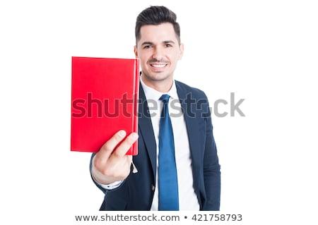 Séduisant jeunes affaires l'ordre du jour blanche Photo stock © wavebreak_media