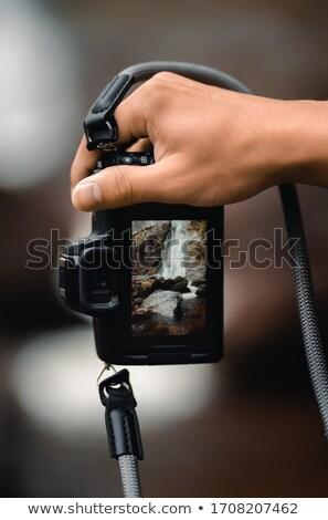 woman shooting a firearm stock photo © stephaniefrey