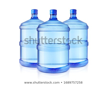 A large bottle of pure water on a white background Stock photo © ozaiachin